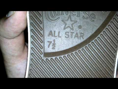 Converse wrong shoe size