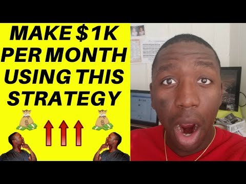 How To Make $300 A Day Online - My 1k Formula ($1,000/month)