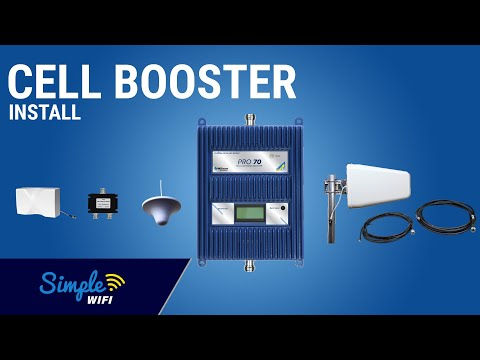 How To: (DAS) Cell Phone Signal Booster Installation In A Large Home