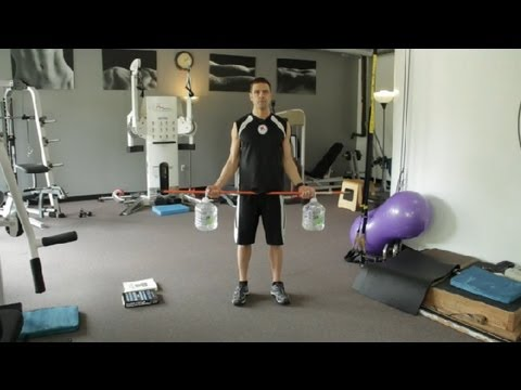 How to Build Your Own Weightlifting Equipment : Around the Gym