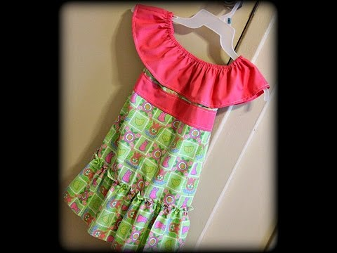 Toddler Easter Dress Tutorial (Sewing For Beginners)