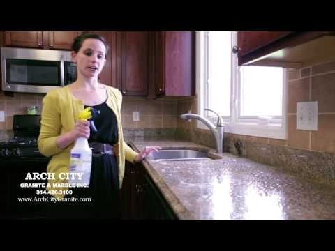 How to Seal Granite or Marble Countertops