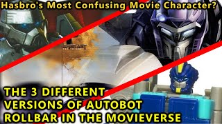 The Strange Story Of The 3 Different Versions Of Rollbar In The Movies(EXPLAINED)- Transformers 2019