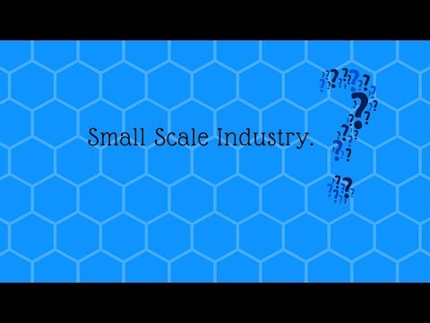 define small scale industries
