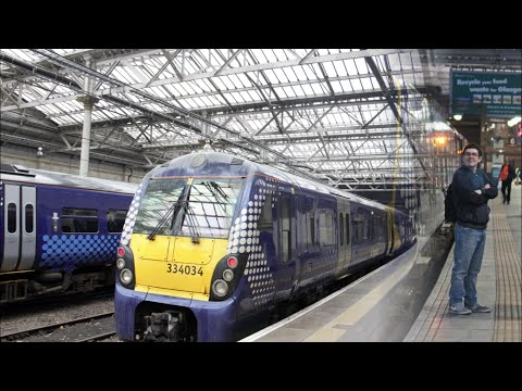 Season 4 Episode 20 - Edinburgh Waverley to Glasgow Queen Street via Bathgate onboard 334034