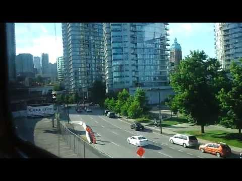 SkyTrain from Metrotown to Downtown Vancouver, BC Pt2