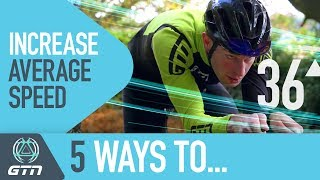 5 Ways To Improve Your Average Speed On A Triathlon Bike - Cycle Faster!