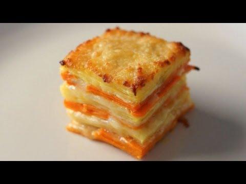 Yams & Sweet Potato Gratin - Bruno Albouze - THE REAL DEAL