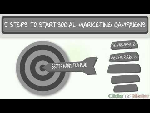 Five Easy Steps for Creating an Effective Social Marketing Strategy