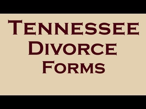 Tennessee Divorce Forms | Easy Divorce Process in Tennessee Facts
