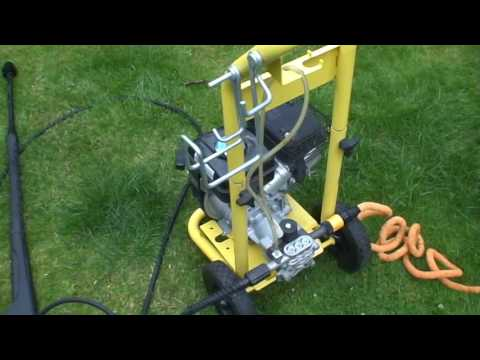 Karcher G4.10 Jetwash with tools