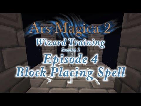 Ars Magica 2: Wizard Training - Season 2 - Episode 4 - Block Placing Spell