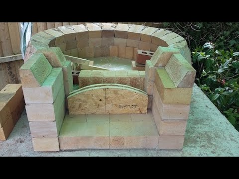 DIY step by step Pompeii Pizza oven build Staffordshire England - Ebook now available!