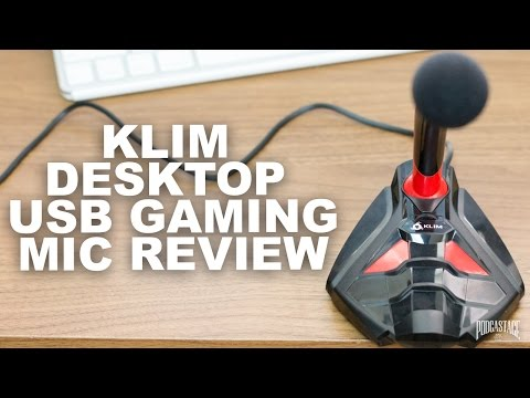 Klim Desktop USB Gaming Microphone Review / Test