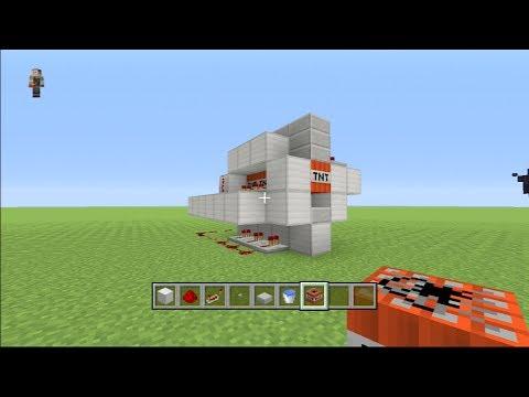 Minecraft PS3 Edition! 120+ block rang TNT Cannon!