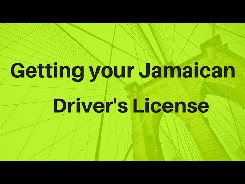 Getting your Jamaican driver's license Part 1 ( Application Process)
