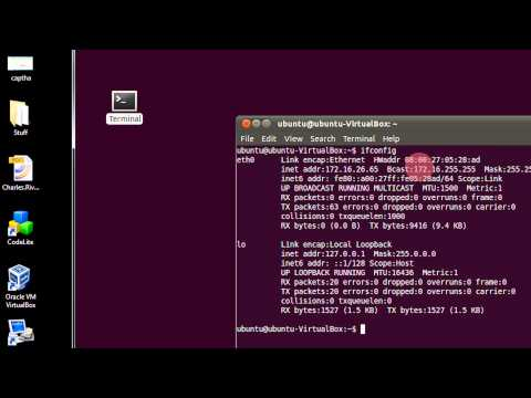 How To view your IP Setting in Ubuntu Linux Via Command Line Or Terminal Step By Step Tutorial