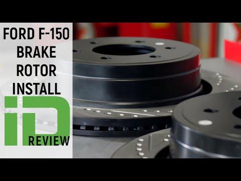 Ford F150 Brake Rotor Install