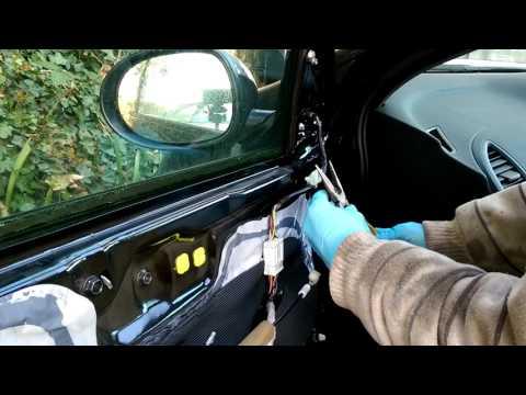 How to replace side door mirror Honda Civic 2007 mk8