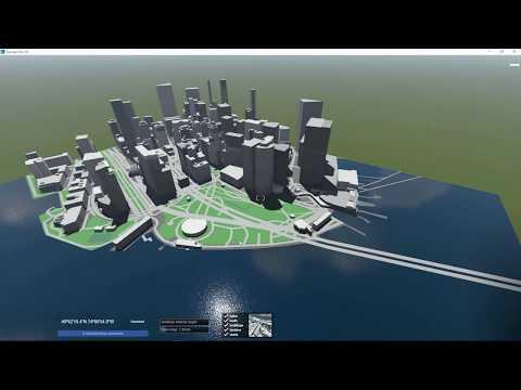 Build Mode: Landscape - Use OpenStreetMap