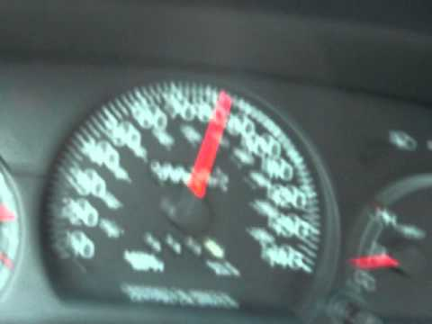 5.4 supercharged Crown Vic 0 to 85 FULL THROTTLE!