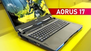 Aorus 17 - A Mechanical Keyboard On A Gaming Notebook!