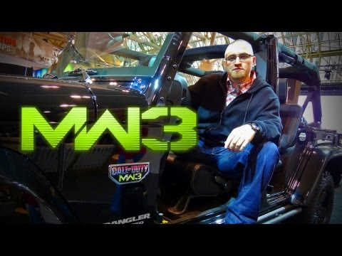 Call of Duty MW3 Special Edition Jeep!