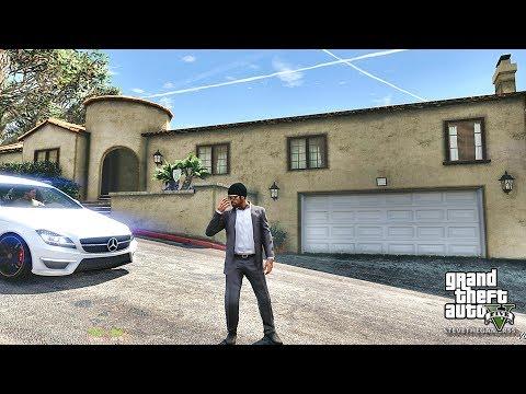 GTA 5 REAL LIFE MOD - TREVOR'S WAY - PART 14 (GTA 5 REAL LIFE MOD PC) BANK ROBBERY
