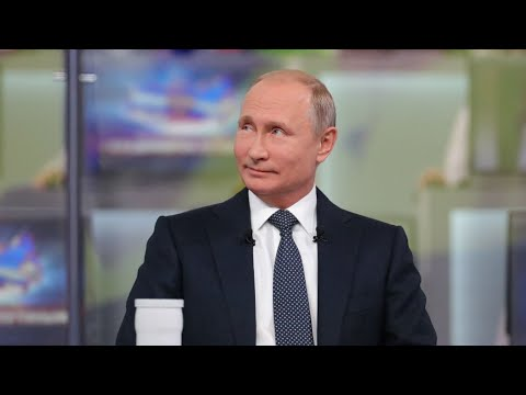 Putin reassures Russians on economy during annual call-in show