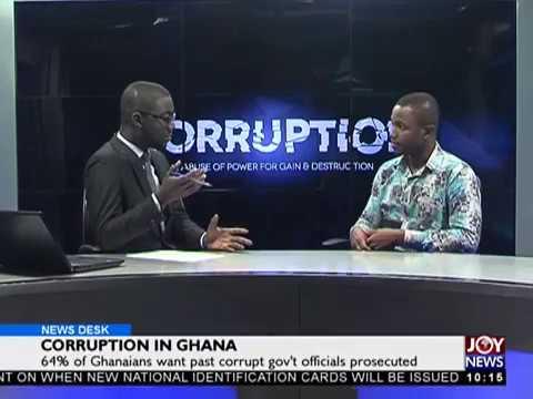 Corruption in Ghana- News Desk on JoyNews (29-11-17)