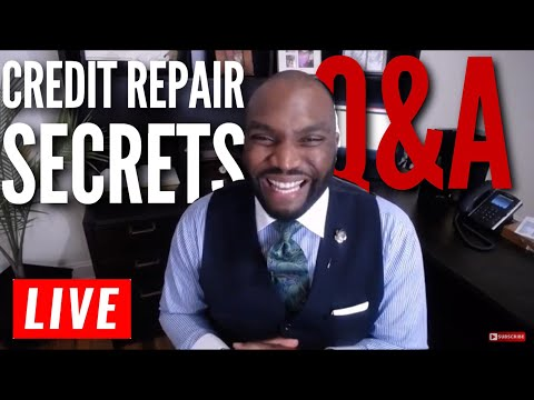 Live Q&A  Taking calls on credit repair secrets and how to build business credit.