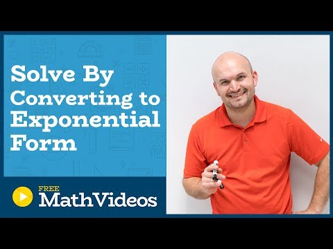 Master Solving Logarithmic equations by converting to exponential equations
