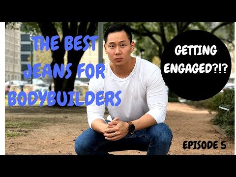 THE BEST JEANS FOR BODYBUILDERS | GETTING ENGAGED | THE COMPETITOR V2.5
