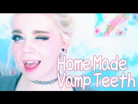 How to Make Vampire Teeth