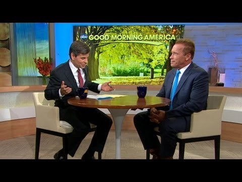 Arnold Schwarzenegger Interview on Affair with Maid, Maria Shriver and New Memoir