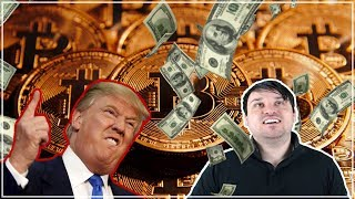 Bitcoin! What Does Trump Think? And the $5.8 Million Coin.