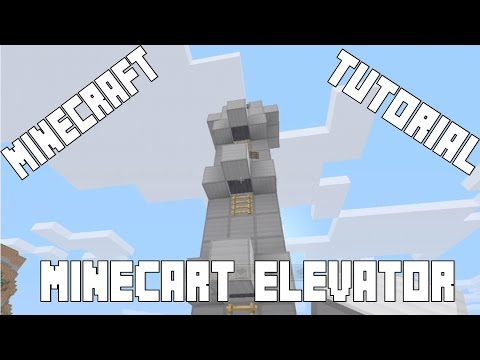 Minecart Elevator Tutorial (Minecraft Xbox 360, Xbox One, PS3, PS4, WiiU)