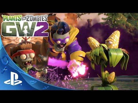 Plants vs. Zombies: Garden Warfare 2 - Launch Gameplay Trailer | PS4