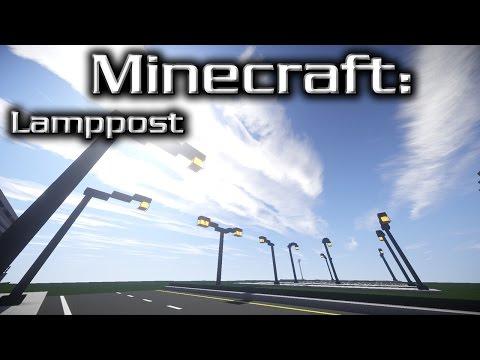 Minecraft: Street Lamp Tutorial