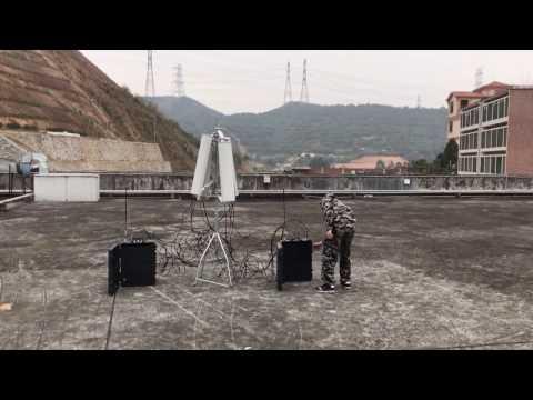 CT-3077B-HGA UAV Drone Jammer demo