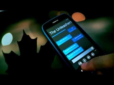 WhatsApp for Windows Phone on Nokia Lumia 610