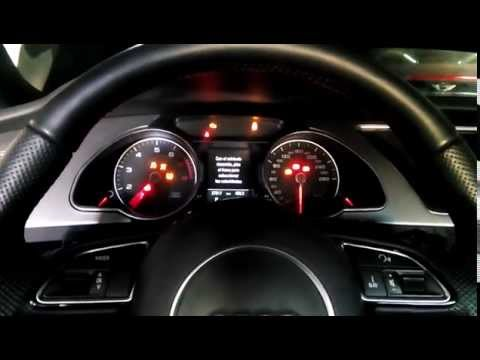 2013 Audi A5 S Line supercharged engine