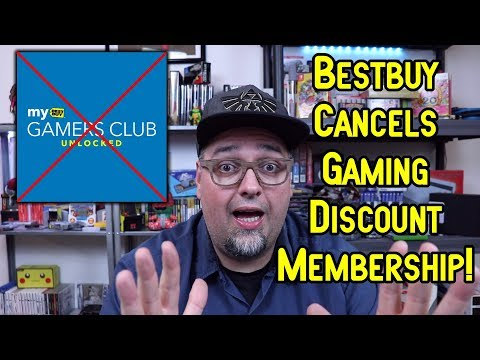 Best Buy Cancels Gamer's Club Unlocked Gaming Discount Membership! RANT!