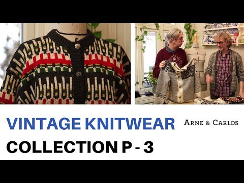 A tour of ARNE & CARLOS vintage knitwear collection. Part 3