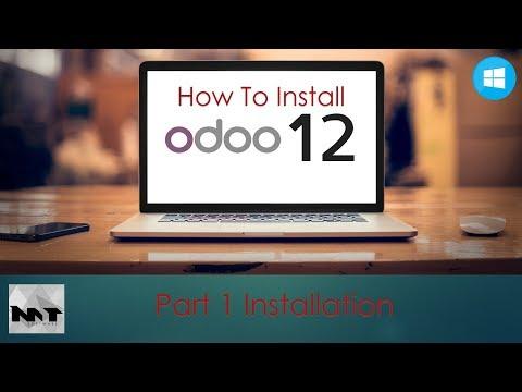 How To Install Odoo 12 on Windows 10   Windows 8   Windows 7