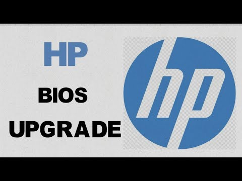 How to Upgrade an HP Computer Bios | ProBook 4540s | Works on Most Models