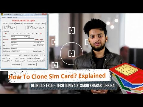 How To Clone SIM Card? |Explained
