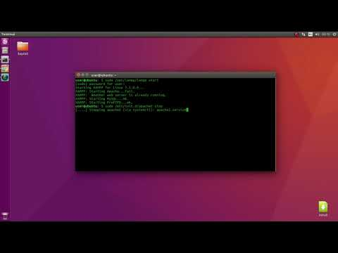How to fix XAMPP Starting Apache...fail. (Debian Based)