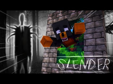 Minecraft HOW TO BUILD A PORTAL INTO SLENDERMANS WOODS - EVIL SLENDERMAN KILLS THE BABIES!!!!