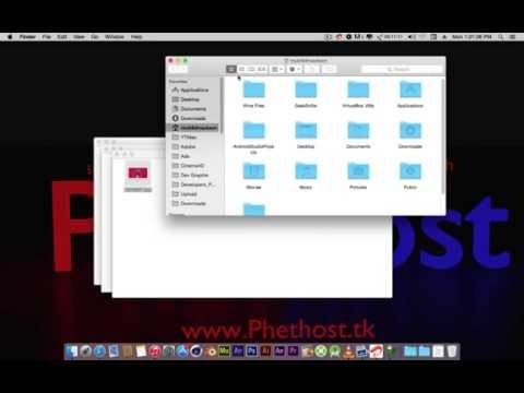 How to Connect to FTP in Mac Os X Yosemite